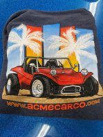 ACME CAR CO - ZIP HOODY BUGGY (S-XL)