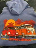 ACME CAR CO - HOODIE VW (2XL/3XL)