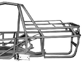 PICK UP STYLE ROLL CAGE KIT